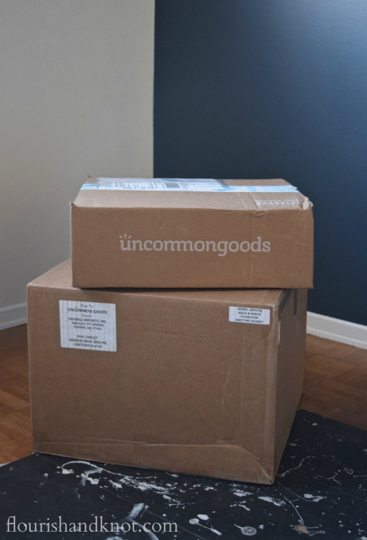 We're thrilled to be partnering with UncommonGoods for our One Room Challenge nursery makeover   flourishandknot.com