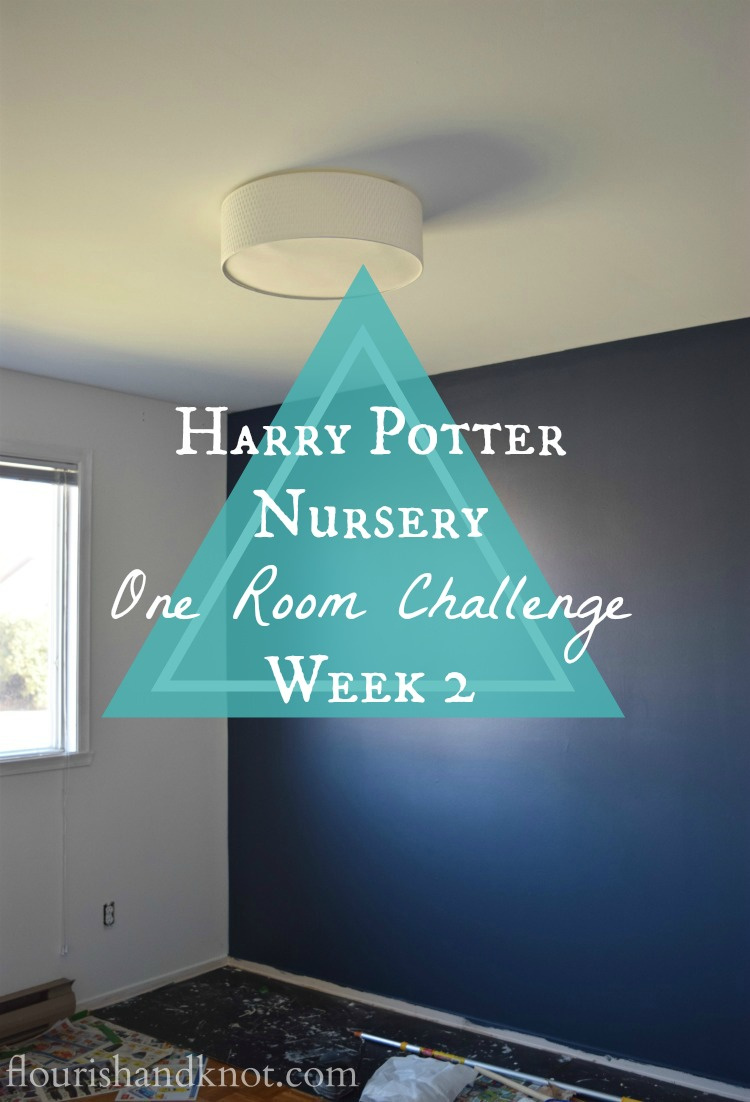 Harry Potter Nursery | One Room Challenge | Week 2
