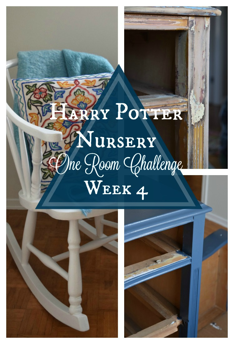 Harry Potter Nursery | One Room Challenge | Week 4