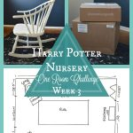 Harry Potter Nursery | One Room Challenge | Week 3