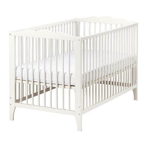 Hensvik Crib from Ikea | One Room Challenge week 2 | flourishandknot.com