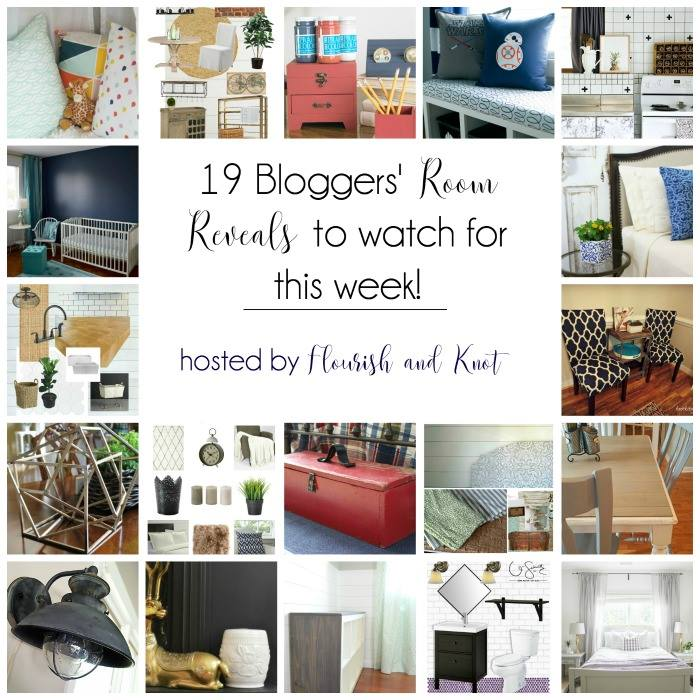 19 Bloggers' Reveals to Watch for in the One Room Challenge
