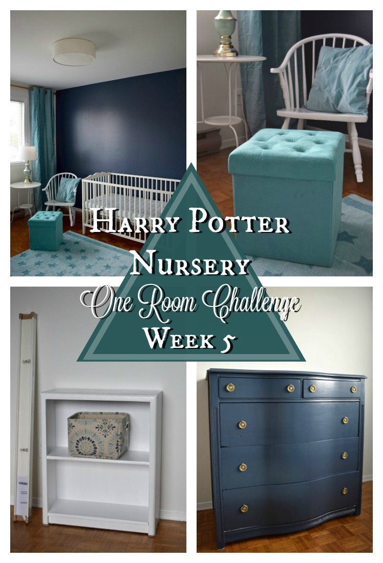 Our Harry Potter-inspired nursery is almost finished! | One Room Challenge | flourishandknot.com