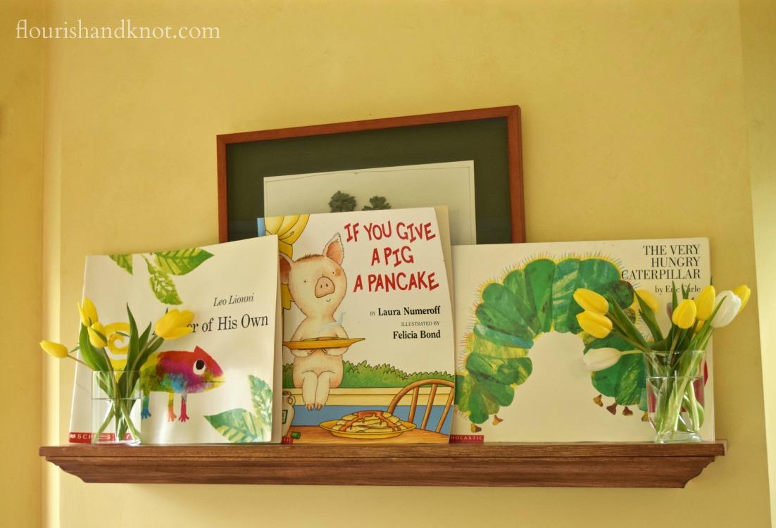 Storybook baby shower | flourishandknot.com