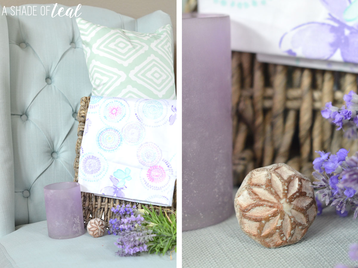 A Shade of Teal's beautiful rustic glam nursery
