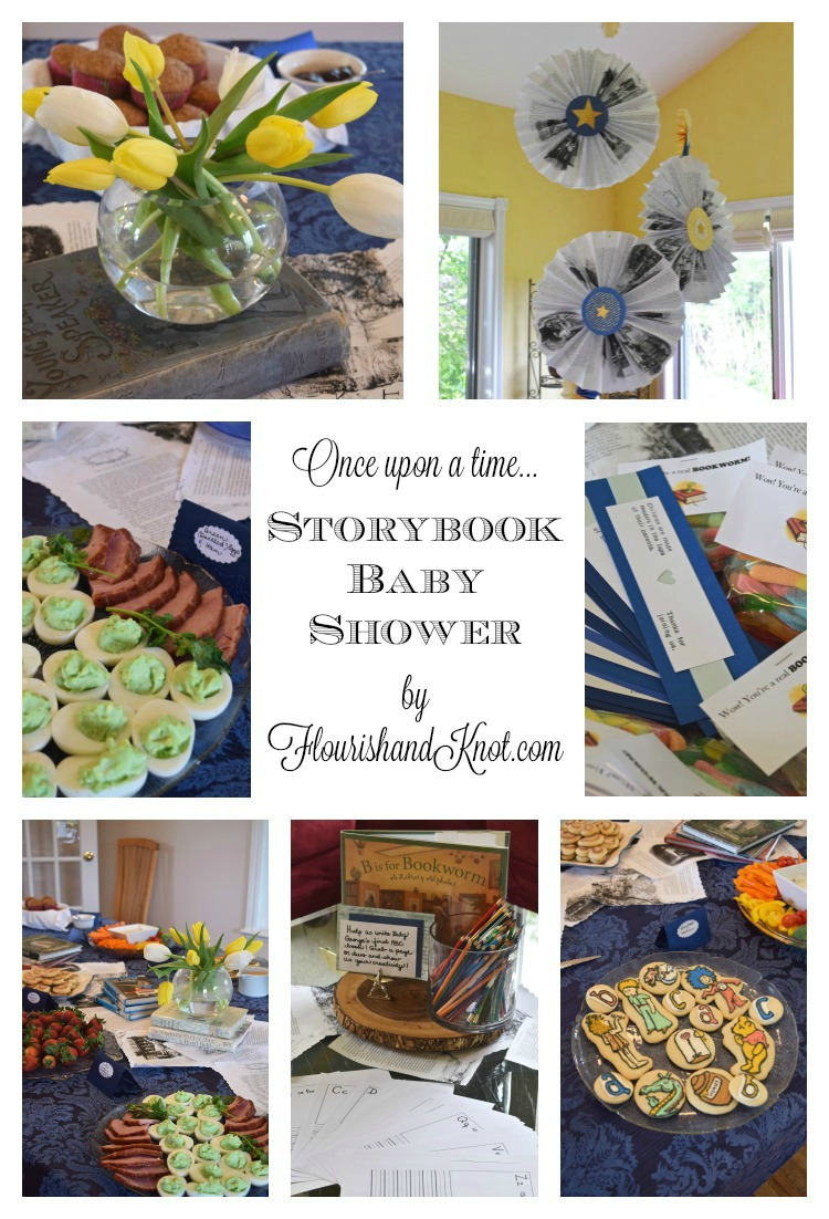 Once upon a time there was a beautiful storybook baby shower! | flourishandknot.com