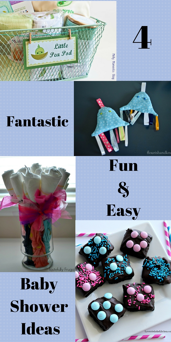 4 Fantastic Easy & Fun Baby Shower Ideas | Baby Shower Blog Hop | flourishandknot.com