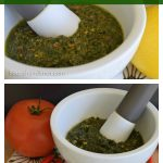 Two variations on traditional pesto | flourishandknot.com
