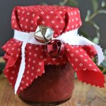 Fruit-filled cranberry sauce recipe for the holidays   baked brie with cranberry sauce   flourishandknot.com