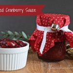 Fruit-Filled Cranberry Sauce | Handmade Holidays Hop