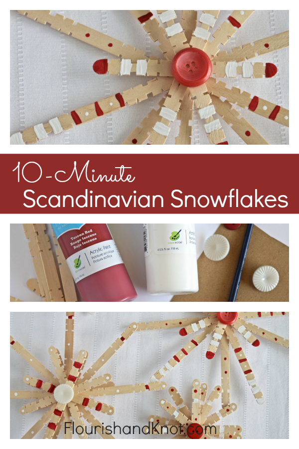 10-Minute Scandinavian Snowflakes | Create & Share