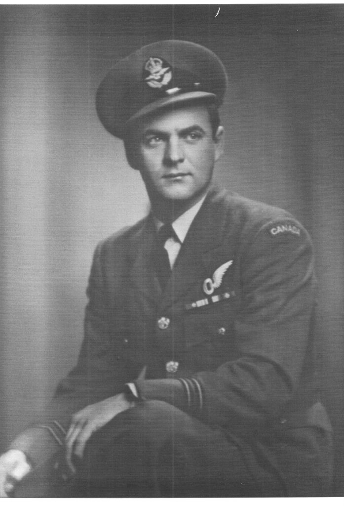 Uncle Blackie in RCAF Uniform | Remembrance Day | flourishandknot.com
