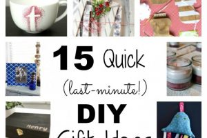 15 Quick (last-minute!) DIY Gift Ideas | flourishandknot.com