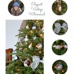 2016 Christmas tree | Elegant, Vintage, Whimsical Christmas Tree | My Home Style | flourishandknot.com