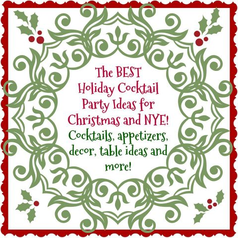 Virtual Holiday Cocktail Party blog hop