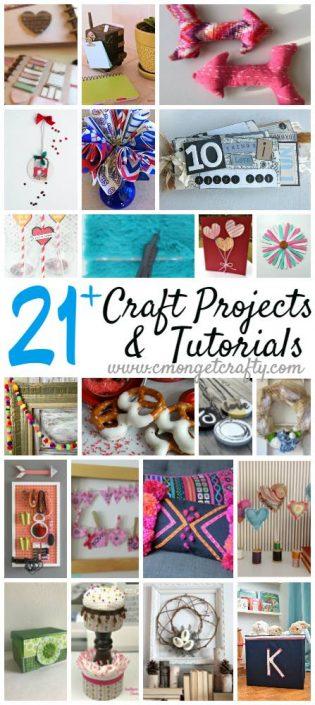De-Stash Craft Challenge | 21+ Craft Projects & Tutorials | flourishandknot.com