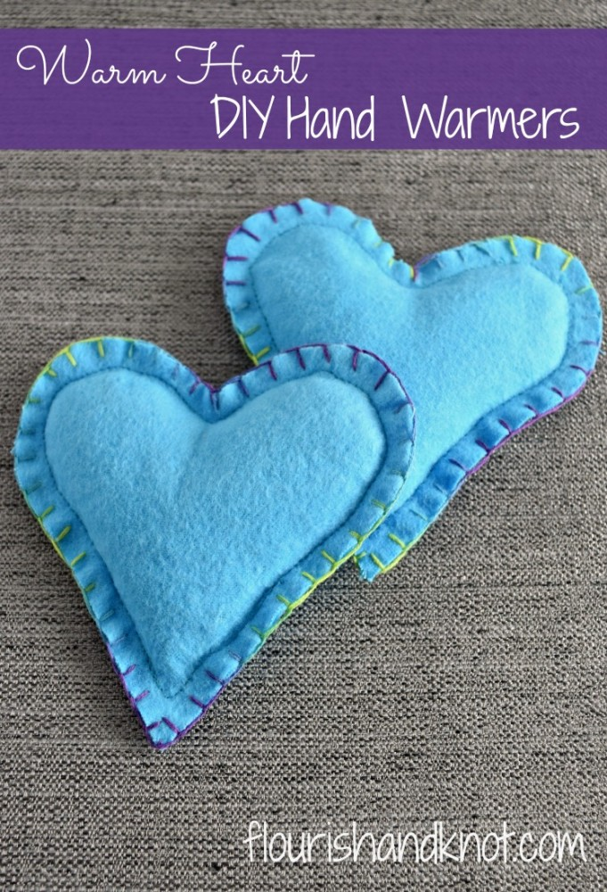 """Warm Heart"" DIY Hand Warmers 