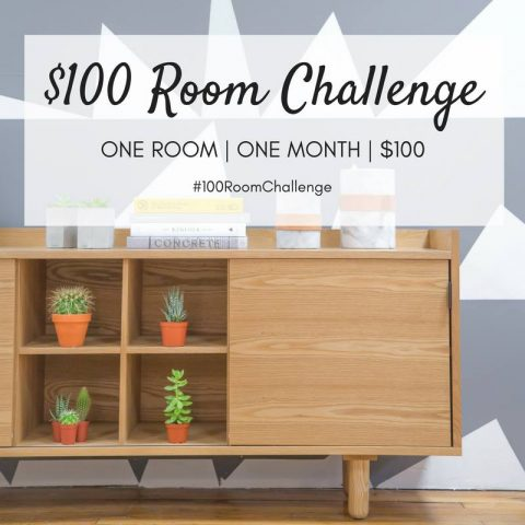 $100 Room Challenge hosted by Lemons, Lavender, and Laundry