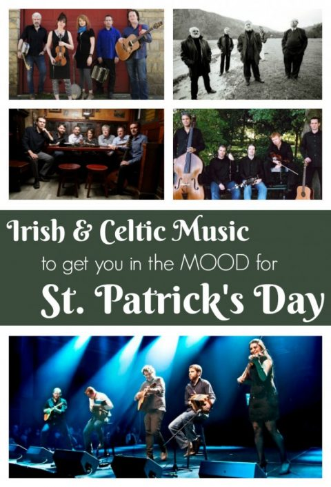 My top Irish & Celtic music picks to get you (and your guests!) in the mood for St. Patrick's Day | Irish music for St Patrick's Day