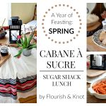 A Sugar Shack Lunch | Cabane à sucre! | Year of Feasting