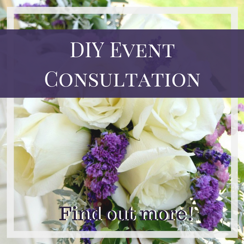 DIY Event Consultation by Flourish & Knot | Sarah Burnell | DIY Flowers - Event Decor - Favours | DIY Weddings & Events