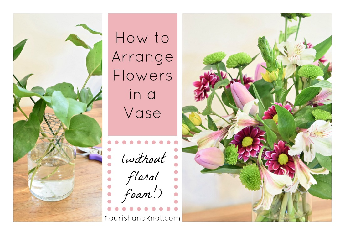 How to arrange flowers in a vase without floral foam reviewsmspy