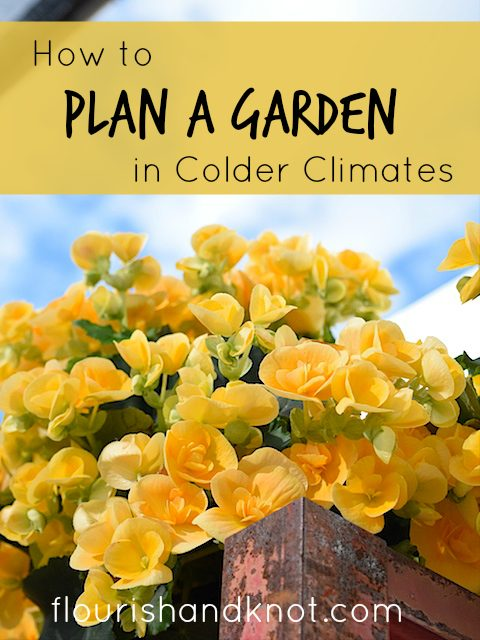 How to Plan a Garden in Colder Climates | Planning a Garden | Spring Garden Planning | Gardening in Colder Zones