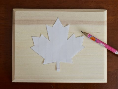 DIY Canada Day Maple Leaf String Art | Canada Day Crafts