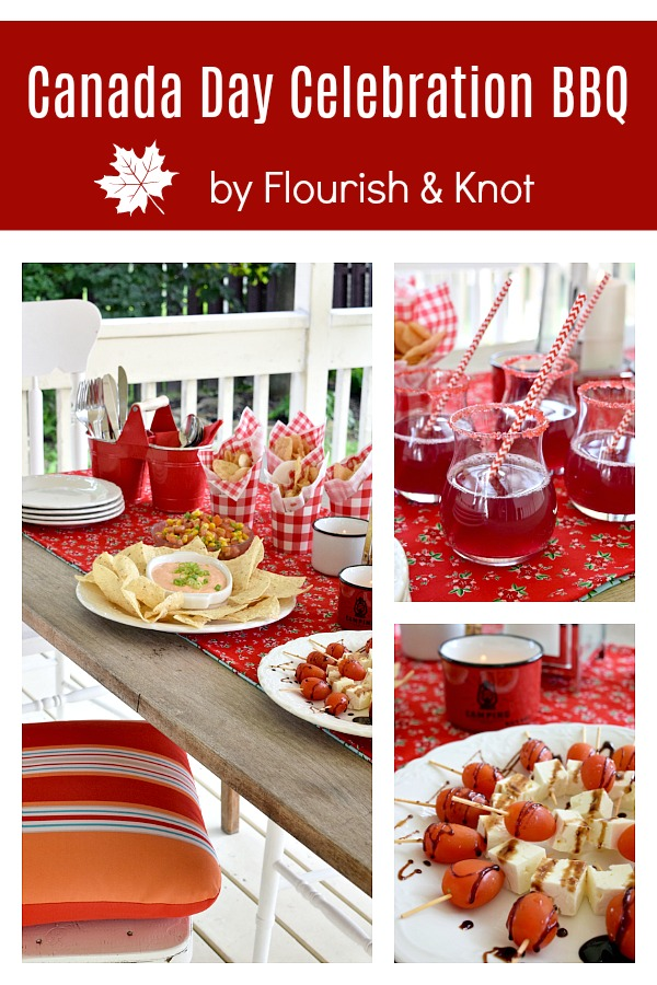 Canada Day Celebrations on the Deck | A Year of Feasting
