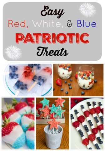 Patriotic Summer Treats | Spectacular Summer Blog Hop #7
