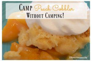 Camp Peach Cobbler Recipe