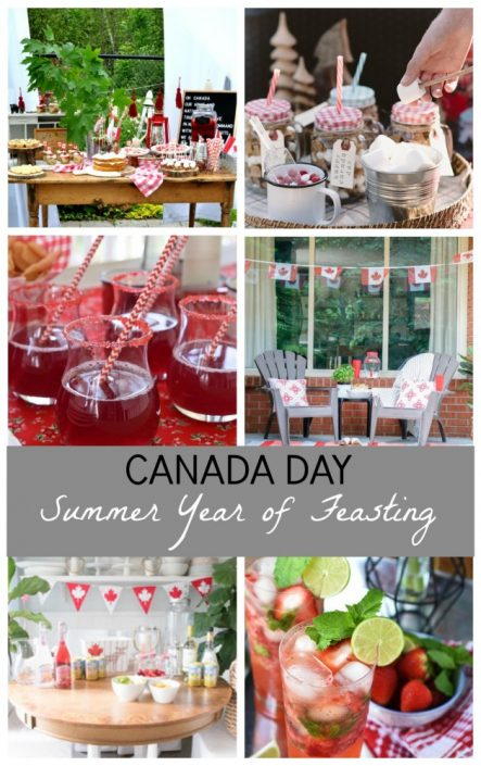 Canada Day Inspiration - Year of Feasting Summer 2017