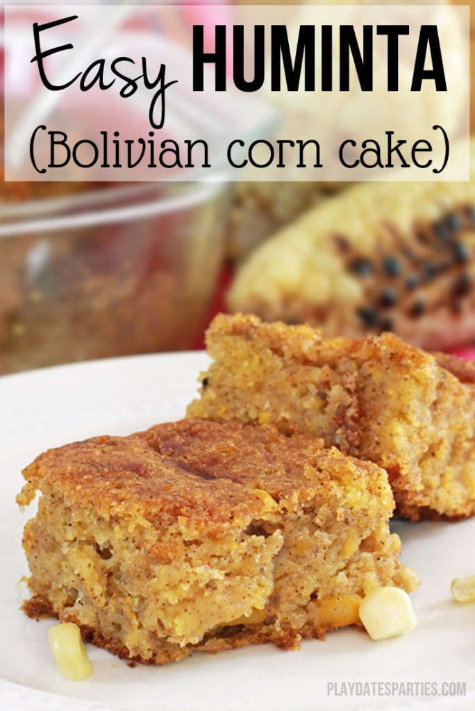 Easy Huminta Corn Cake | Spectacular Summer Blog Hop #9