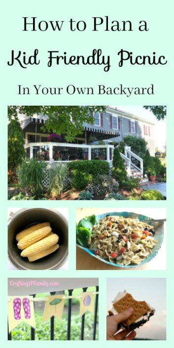 Kid-Friendly Backyard Cookout Picnic