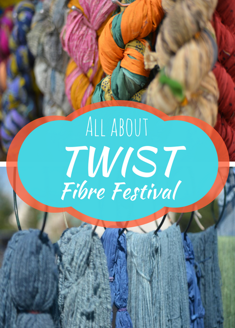 Spinning a Good Yarn: All About the TWIST Fibre Festival | Saint-André-Avellin, Quebec, Canada | August 17th-20th 2017 | Flourish & Knot