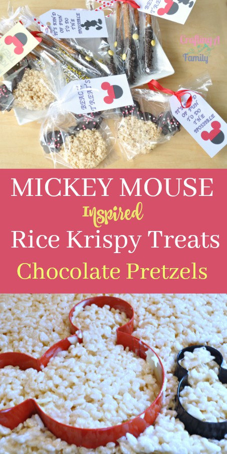 Mickey Mouse Inspired Rice Krispies Treats | SSBH #24