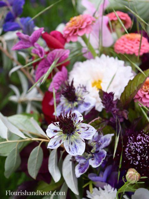 Nigella | Wild & Moody Hand-Tied Bouquet - Wild Bouquet - Les Jardins de Frieda Bella - Flourish & Knot