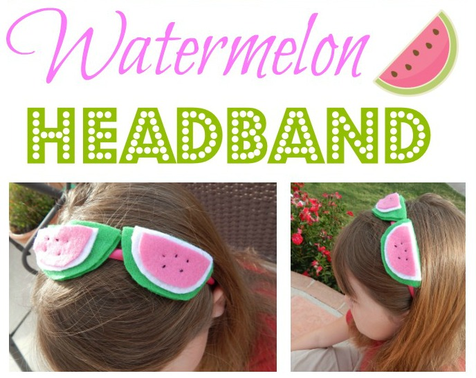 DIY Watermelon Headband | Spectacular Summer Blog Hop #17