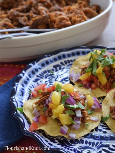Mexican Pulled Pork | Cochinita Pibil Recipe | Slow Cooker Pulled Pork
