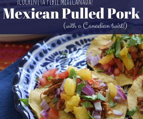 Cochinita Pibil MéxiCanada! | Mexican Pulled Pork | Slow Cooker Recipe Hop