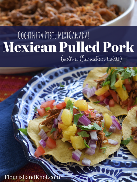 Cochinita Pibil MéxiCanada! | Mexican Pulled Pork | Slow Cooker Recipe Hop