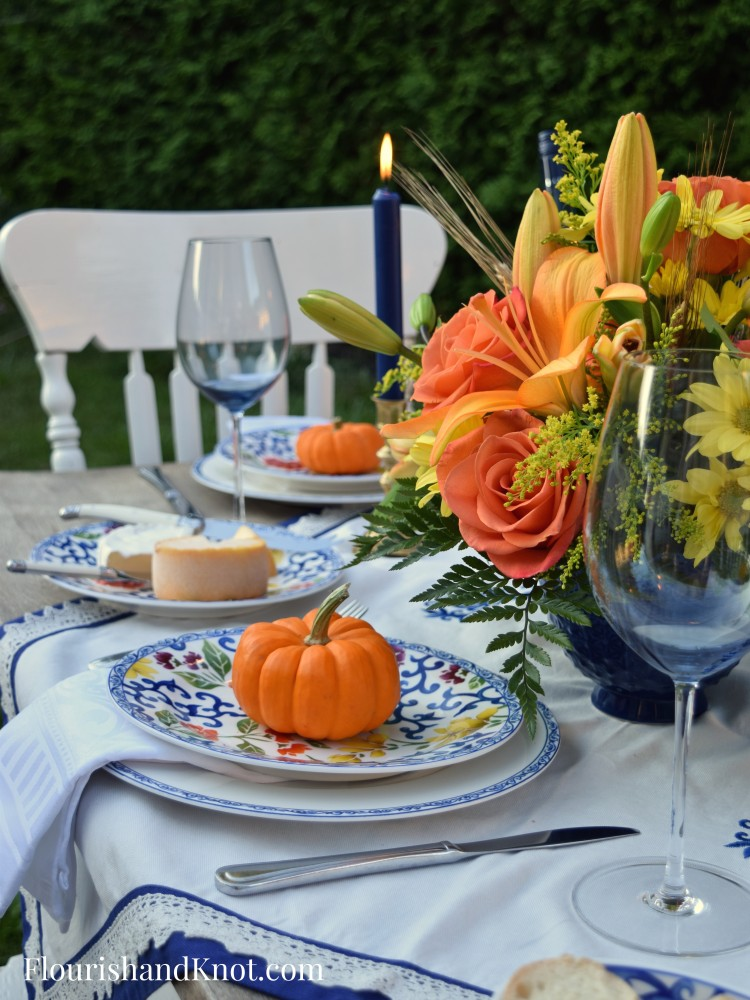 Vibrant Thanksgiving Table | Thanksgiving Centerpiece DIY | Year of Feasting