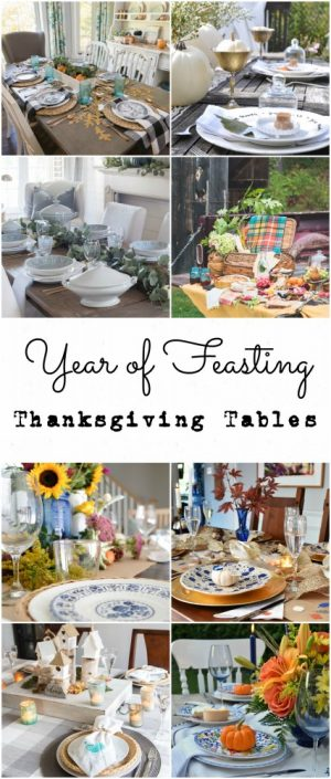 Year of Feasting | Thanksgiving Tablescapes