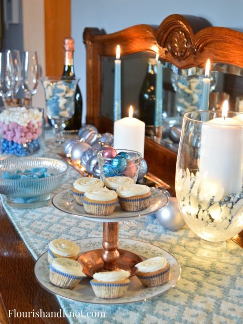 DIY Candy Buffet Ideas | Sweet & Sparkly New Year's Eve Candy Buffet | Year of Feasting