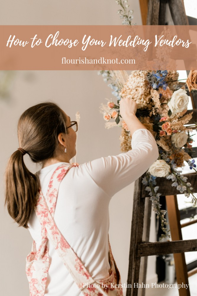 How to Choose Your Wedding Vendors   Montreal wedding florist Flourish & Knot talks about how to select the right wedding vendors for your day   Photo by Kerstin Hahn Photography