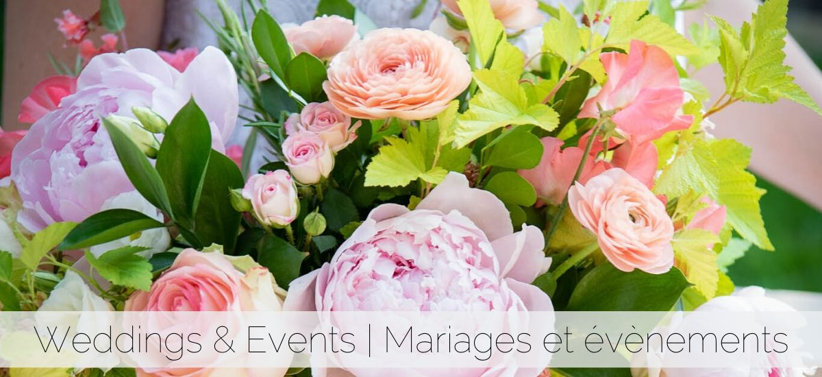 Montreal wedding florist | Fleuriste mariage Montreal
