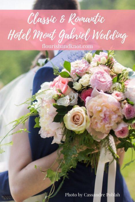 Hotel Mont Gabriel Wedding | Flourish & Knot | Cassandre Poblah Photography