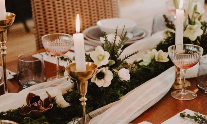 Three Alternatives to a Garland Centrepiece | Ideas for Long Tables