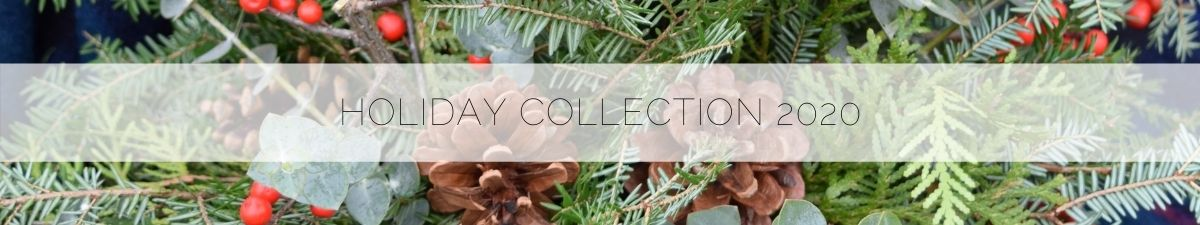 Holiday Collection 2020 from Flourish & Knot | Christmas flowers in Montreal