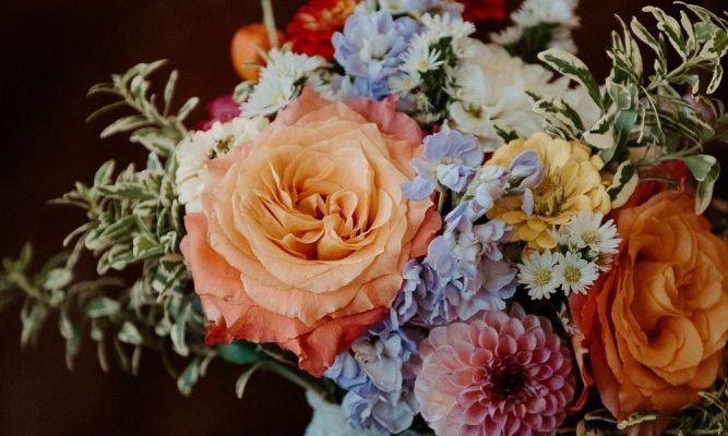 Bright & Colourful Late Summer Wedding in Montreal